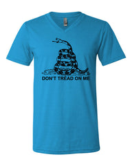 Don't Tread On Me V-Neck T-Shirt - Tee Hunt - 7