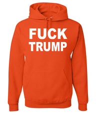 F**K Trump Hoodie Anti Trump Political Sweatshirt - Tee Hunt - 4