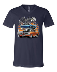 Dodge Super Bee  V-Neck T-Shirt American Classic Muscle Car Tee