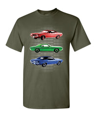 1970 Dodge Challenger T-Shirt 1st Gen T/A Classic Muscle Car Mens Tee Shirt