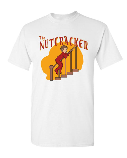 4d24572f0 ... The Nutcracker Christmas T-Shirt Funny Xmas Holiday Spirit Mens Tee  Shirt ...