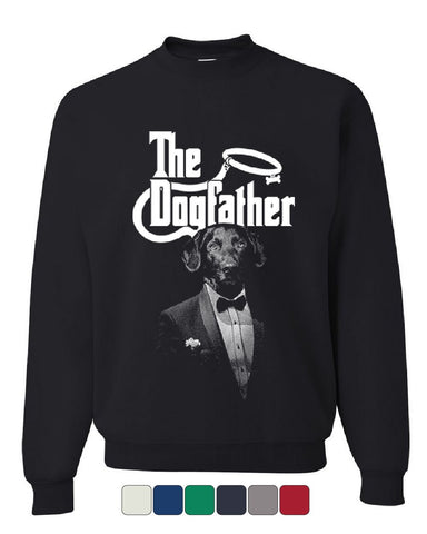 The Dogfather Funny Sweatshirt Parody Dog Lovers Pet Best Friend Sweater