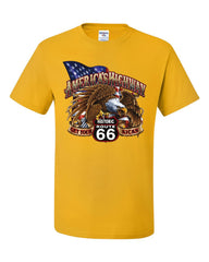 America's Highway Route 66 T-Shirt Get your Kicks Ride or Die Tee Shirt