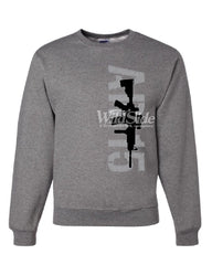 AR-15 Rifle Sweatshirt Right to Bear Arms 2nd Amendment Gun Rights Sweater