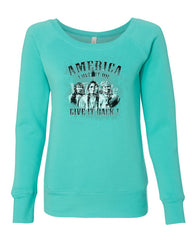 America Love It or Give It Back! Women's Sweatshirt Native American Indians
