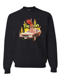 Dodge Demon Sweatshirt American Classic Muscle Car Sweater