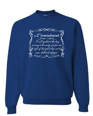 2nd Amendment Sweatshirt Freedom Right to Bear Arms Constitution Sweater