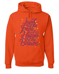 Land of the Free Home of the Brave Hoodie 4th of July Patriotic Sweatshirt