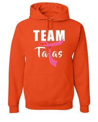Team Tatas Hoodie Funny Support Breast Cancer Awareness October Sweatshirt
