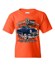 American Tradition Ford Motor Company Youth T-Shirt Classic Since 1903 Kids Tee