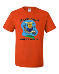 Make Golf Great Again T-Shirt Funny Donald Trump 45 Political Tee Shirt