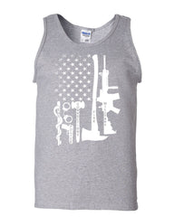 First Responders Tank Top Police EMS Firefighter Military AR-15 Sleeveless