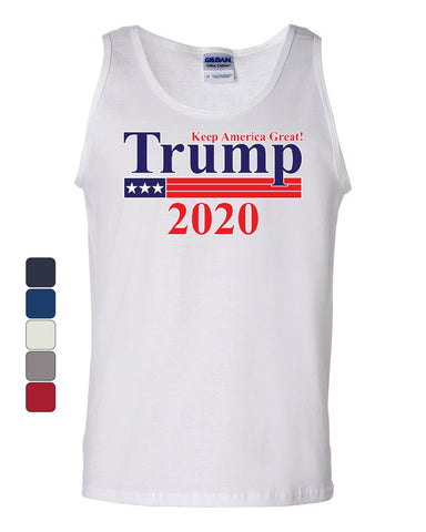 Keep America Great Trump 2020 Tank Top Republican Conservative Sleeveless