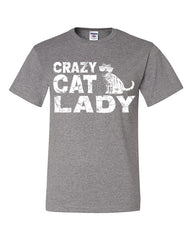 Crazy Cat Lady T-Shirt Funny Pet College Humor Hipster Cat Kitten Tee Shirt - Tee Hunt - 3