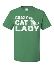 Crazy Cat Lady T-Shirt Funny Pet College Humor Hipster Cat Kitten Tee Shirt - Tee Hunt - 10