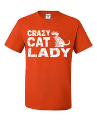 Crazy Cat Lady T-Shirt Funny Pet College Humor Hipster Cat Kitten Tee Shirt - Tee Hunt - 8