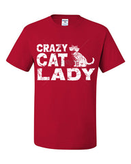 Crazy Cat Lady T-Shirt Funny Pet College Humor Hipster Cat Kitten Tee Shirt - Tee Hunt - 11
