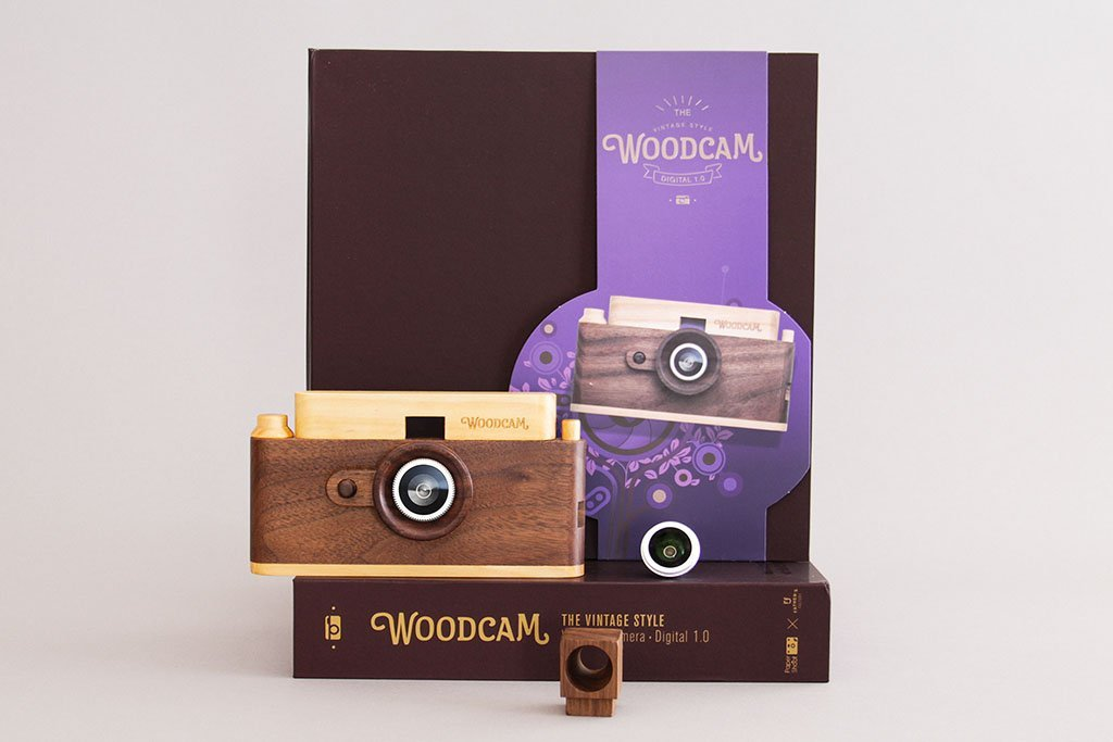 Classic One Wooden Digital Camera