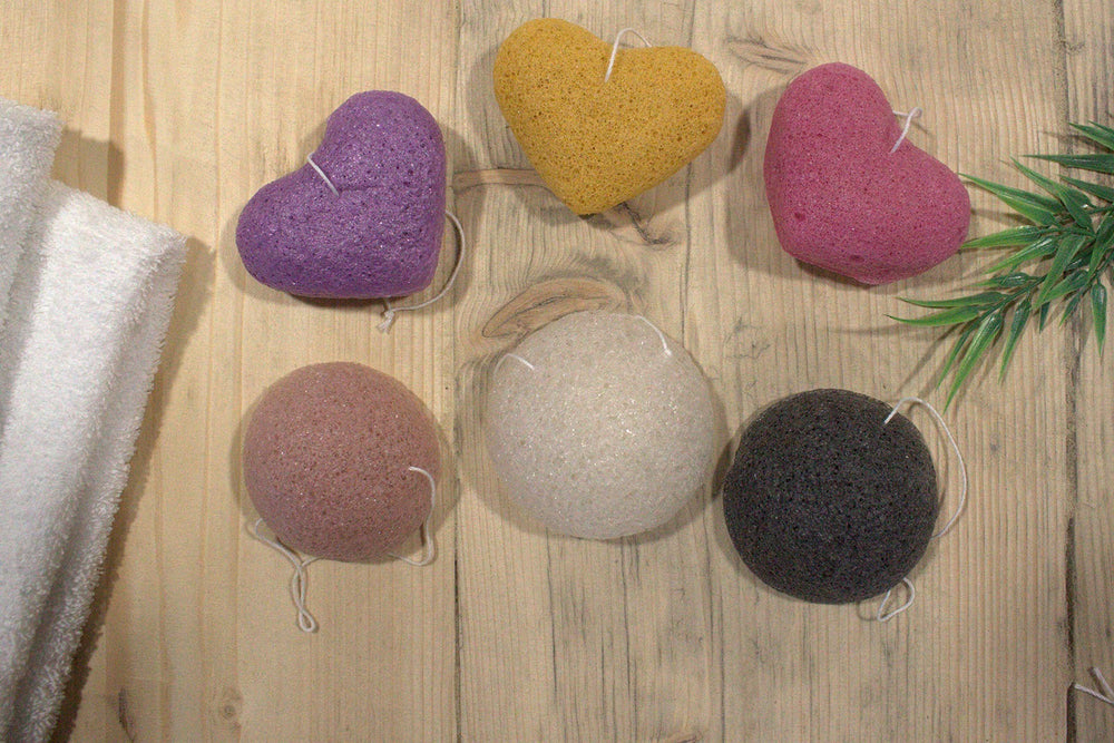 Natural Japan-Style Konjac Beauty Sponge - Natural