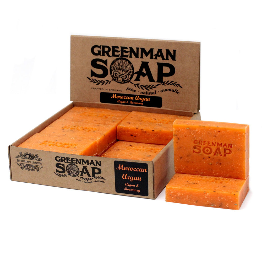 Greenman Soap - Moroccan Argan Oil & Rosemary