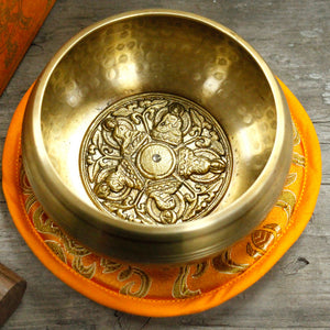 Five Buddha Singing Bowl Set