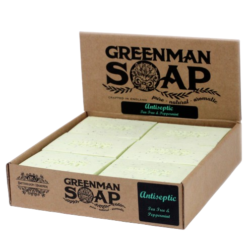 Greenman Soap - Peppermint & Tea Tree Antiseptic Spot Attack
