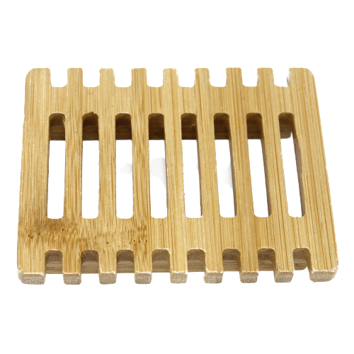 Hemu Wood Soap Dish - Piano