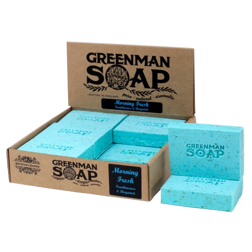 Greenman Soap - Morning Fresh Frankincense & Bergamot
