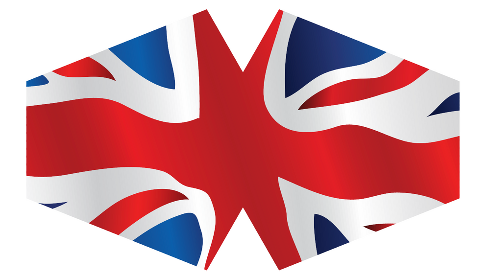 Load image into Gallery viewer, Fashion Face Mask (Adult) - Union Jack