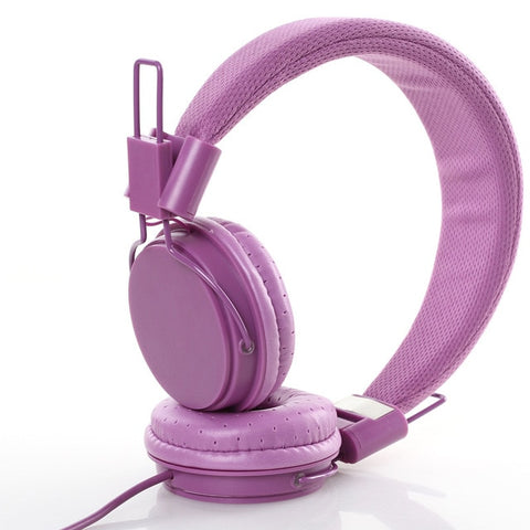 Hype Stereo Casque Violet