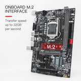 Carte Mère MACHB75 LGA1155 DDR3