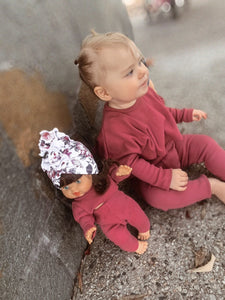 Toddler Dolly and Me Set in Vintage Pink