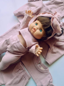 Toddler Dolly and Me Set in Pastel Pink