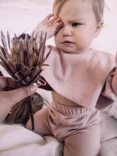 Load image into Gallery viewer, Toddler Dolly and Me Set in Pastel Pink