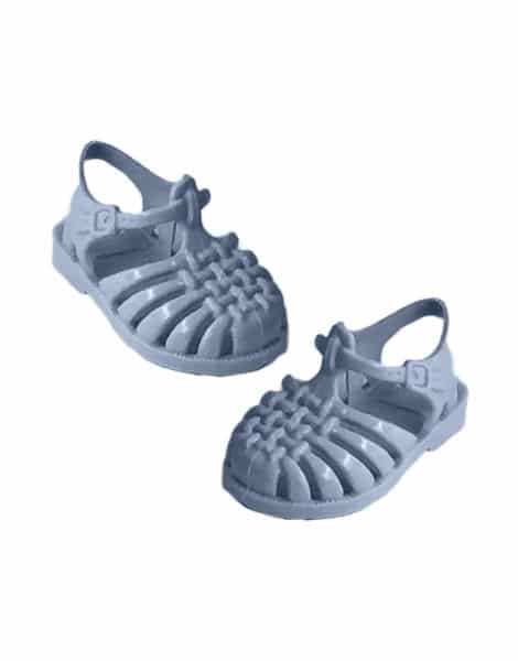 Meduse Beach Sandals for Gordis Doll Pastel bleu