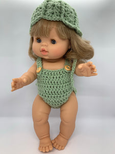 Lolly Romper in Pistachio
