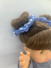 Load image into Gallery viewer, Penny Light Blue Havan Scrunchie Set