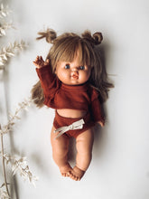 Load image into Gallery viewer, Dolly Rust Lounge Shortie Set