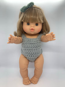 Soho Romper Grey with head band set