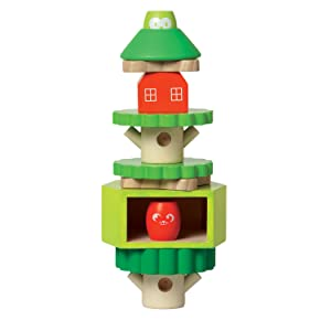 Treehouse Wooden Stacker
