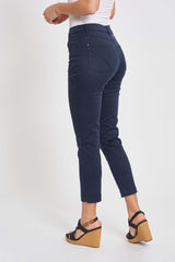 Faith Slim Crop - Navy