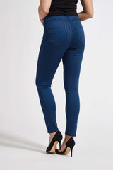 Faith Slim Cropped - True Blue Stripe