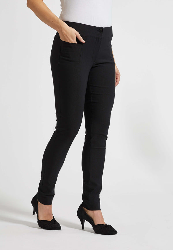 Mindy Slim Bukser - Black