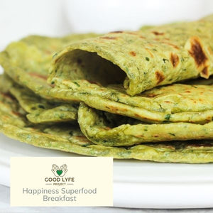 Buy Moringa Powder Certified Organic India Made Paratha Recipe Good Lyfe Project
