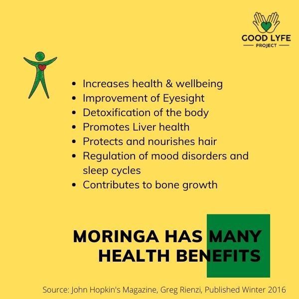 Buy Online Moringa Powder Certified Organic India Made Good Lyfe project Health Benefits