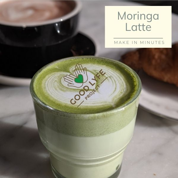Buy Online Ashwagandha Moringa Combination Pack Certified Organic India Made Moringa Latte Recipe Good Lyfe project