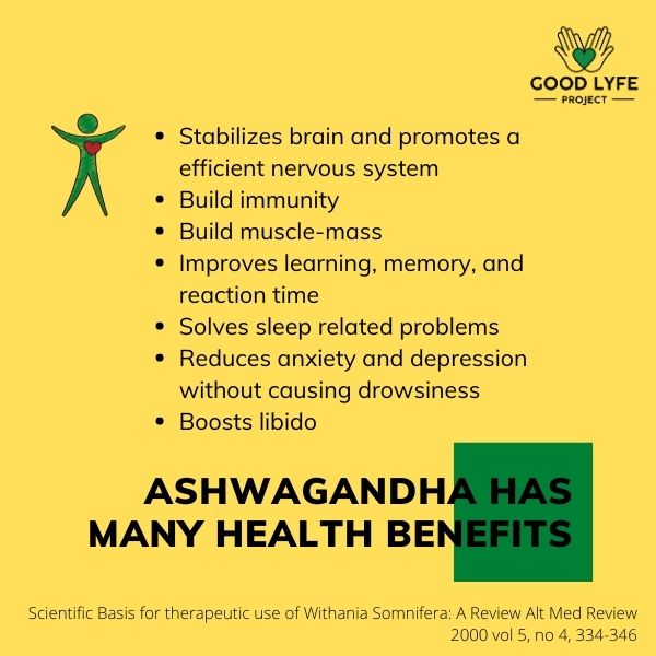 Buy Online Ashwagandha Powder Certified Organic India Made health Benefits