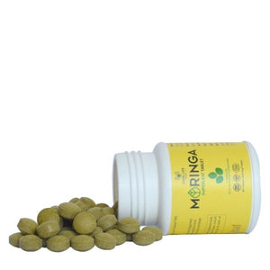 Buy Online Organic Moringa Tablets Certified organic India Made Good Lyfe project