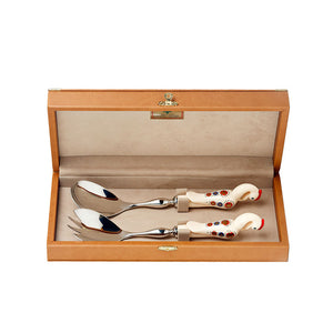 Salad Serving Set - Beige