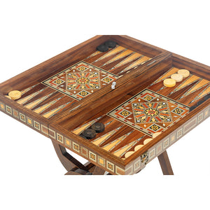 Backgammon With Stand